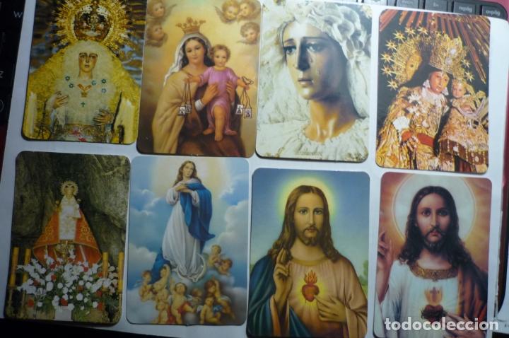 LOTE CALENDARIOS RELIGIOSOS DIF.AÑOS (Coleccionismo - Calendarios)