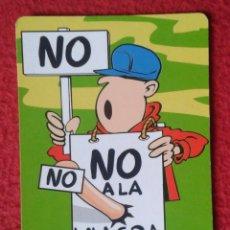 Coleccionismo Calendarios: CALENDARIO DE BOLSILLO CALENDAR 2000 MAN WITH A ERECTION HOMBRE CON ERECCIÓN NO A LA VIAGRA, NOT TO . Lote 176502550
