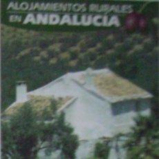 Coleccionismo Calendarios: CALENDARIO ALOJAMIENTOS RURALES DE ANDALUCIA 2004. Lote 176557823