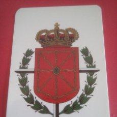 Coleccionismo Calendarios: CALENDARIO COMISIÓN DE NAVARROS EN MADRID - ESCUDO CON LAUREADA - AÑO 1990. Lote 221707315
