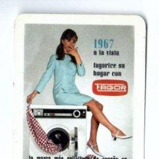 Coleccionismo Calendarios: CALENDARIO FOURNIER. 1967. FAGOR. Lote 176768718