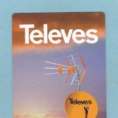Coleccionismo Calendarios: CALENDARIO 2008 - TELEVES. Lote 176846094
