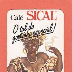 Coleccionismo Calendarios: CALENDARIO PORTUGAL 1988 - CAFE SICAL. CAFES. Lote 176925873