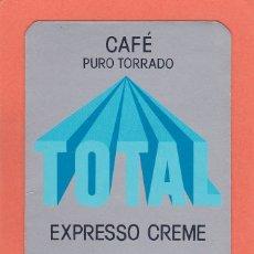 Coleccionismo Calendarios: CALENDARIO PORTUGAL 1988 - CAFE TOTAL. CAFES. Lote 176925938