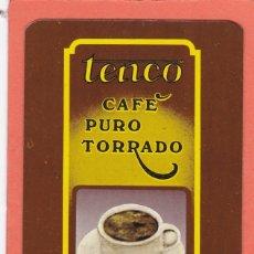 Coleccionismo Calendarios: CALENDARIO PORTUGAL 1985 - CAFE TENCO. CAFES. Lote 176926024
