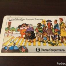 Coleccionismo Calendarios: ANTIGUO CALENDARIO FOURNIER BANCO GUIPUZCOANO 1980. Lote 177443468