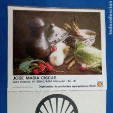 Coleccionismo Calendarios: SHELL , CALENDARIO DE PARED , 1973 PUBLICIDAD. Lote 177507105
