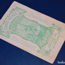 Coleccionismo Calendarios: CUADERNO / CALENDARIO - GRANADA - SIERRA NEVADA ALMANAQUE 1936 - EDITA INDALECIO VENTURA - ¡RARO!. Lote 177510082