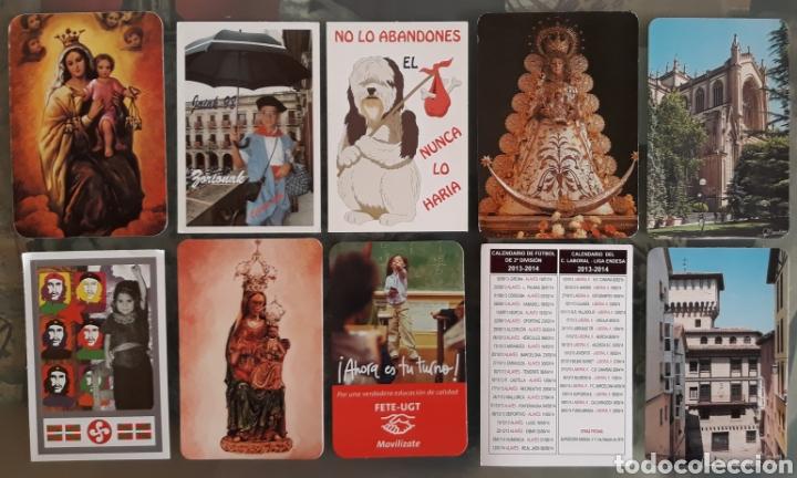 LOTE 10 CALENDARIOS (Coleccionismo - Calendarios)