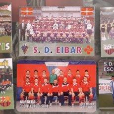 Coleccionismo Calendarios: LOTE 6 CALENDARIOS EQUIPOS DE FUTBOL. Lote 177558134