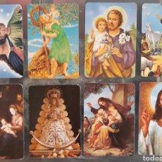 Coleccionismo Calendarios: LOTE 8 CALENDARIOS RELIGIOSOS. Lote 177558698