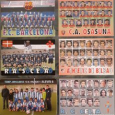 Coleccionismo Calendarios: LOTE 6 CALENDARIOS EQUIPOS DE FUTBOL. Lote 177559424