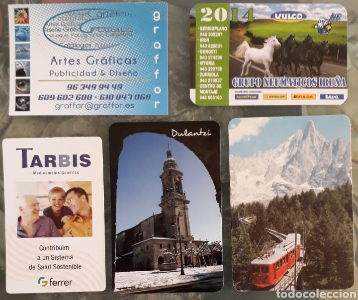 LOTE 5 CALENDARIOS VARIADOS (Coleccionismo - Calendarios)