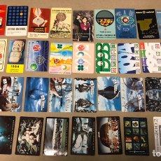 Coleccionismo Calendarios: LOTE DE 42 CALENDARIOS DE LA LOTERÍA NACIONAL. DESDE 1964 A 2003. TODOS DIFERENTES.. Lote 177619928