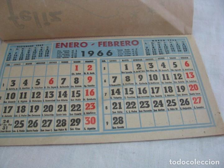 Coleccionismo Calendarios: ASPE-ELDA-NOVELDA. Calendario 1966, exposición y venta de muebles RAMON PRIETO HERNANDEZ - Foto 6 - 177628722