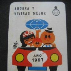 Coleccionismo Calendarios: CALENDARIO FOURNIER. CAJA DE AHORROS DE NAVARRA 1967. Lote 177639343