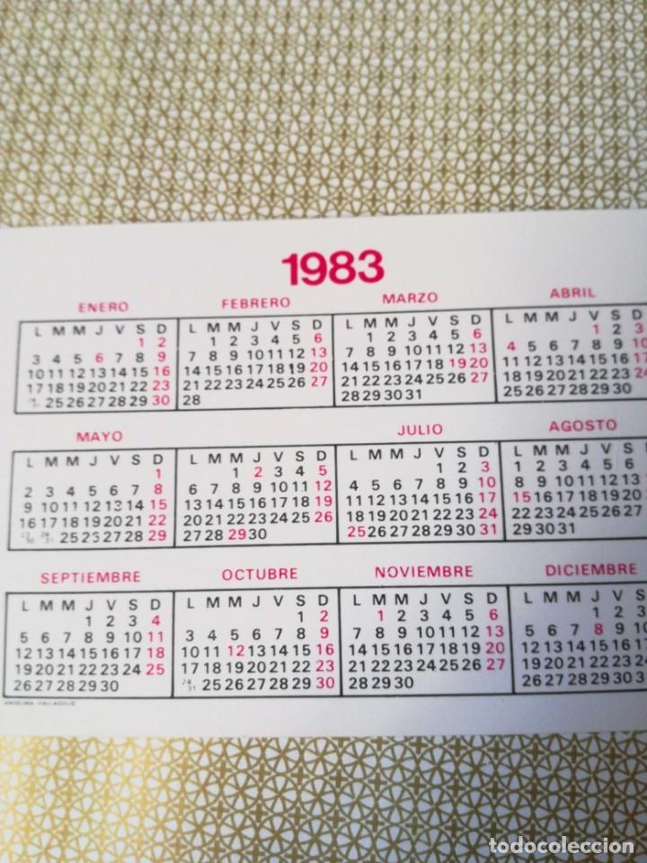 Coleccionismo Calendarios: Calendario bolsillo 1983 - Foto 2 - 177661659