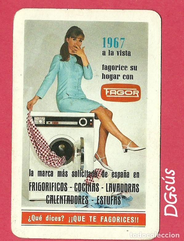 CALENDARIO FAGOR 1967 FOURNIER (Coleccionismo - Calendarios)