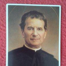 Coleccionismo Calendarios: CALENDARIO DE BOLSILLO RELIGIOSO RELIGIÓN 1988 AÑO CENTENARIO LA MUERTE DON BOSCO EDICIONES 1888-198. Lote 178009248
