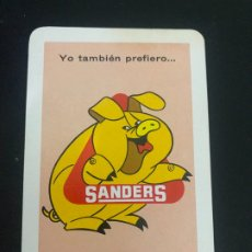 Coleccionismo Calendarios: CALENDARIO FOURNIER. 1968. SANDERS. Lote 199318403