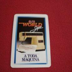 Coleccionismo Calendarios: CALENDARIO FOURNIER AÑO 1988. Lote 178134683