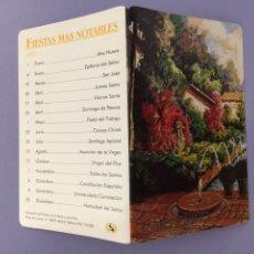 Coleccionismo Calendarios: CALENDARIO FIESTAS MÁS NOTABLES 2000. Lote 178153450