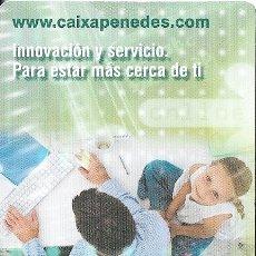 Coleccionismo Calendarios: CALENDARIO 2009 CAIXA PENEDES - BANCOS. Lote 178243282