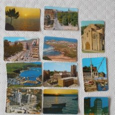 Coleccionismo Calendarios: UNION MUTUA ASTUR DE SEGUROS GENERALES. OVIEDO. LOTE DE 13 CALENDARIOS CON PAISAJES ASTURIANOS. AÑOS. Lote 178263211