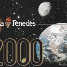 Coleccionismo Calendarios: CALENDARIO 2000 CAIXA PENEDES (CATALAN) - BANCOS. Lote 178296501