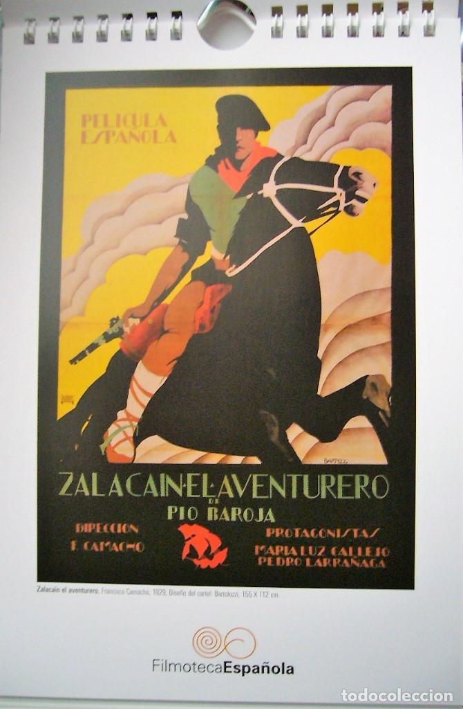 Coleccionismo Calendarios: CALENDARIO DE MESA 2007 CON REPRODUCCIONES DE CARTELES DE CINE ANTIGÜOS - Foto 2 - 178367896
