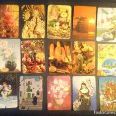 Coleccionismo Calendarios: LOTE DE 15 ANTIGUOS CALENDARIOS VARIADOS, AÑOS 80-90 ,VER FOTOS. Lote 178566152