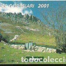 Coleccionismo Calendarios: CALENDARIO PUBLICITARIO. BBK. BILBAO BIZKAIA KUTXA. CAJA. BANCO. AÑO 2001. Lote 178616442