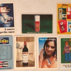 Coleccionismo Calendarios: LOTE 7 CALENDARIOS FOURNIER 1972,1973,1977 (X2), 198 Y 1979. LEA,FOURNIER, GOYA, VIÑA, ZACO, SEAT, V. Lote 178629905