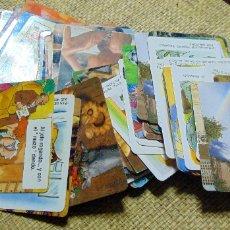 Coleccionismo Calendarios: LOTE DE 130 CALENDARIOS, TEMATICA VARIADA, SALDA 1 EURO. Lote 178653050