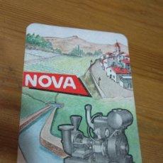 Coleccionismo Calendarios: CALENDARIO 1967 MOTORES NOVA - A. Lote 178886407