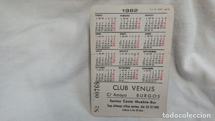 Coleccionismo Calendarios: CALENDARIO NO FOURNIER SERIE CHICA AÑO 1982 - Foto 2 - 178958642