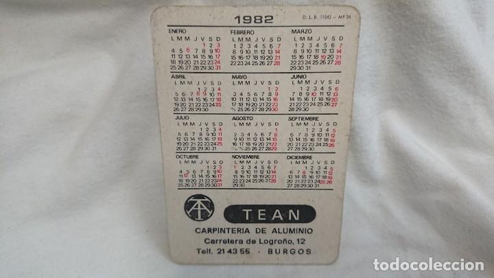 Coleccionismo Calendarios: CALENDARIO NO FOURNIER SERIE CHICA AÑO 1982 - Foto 2 - 178958902