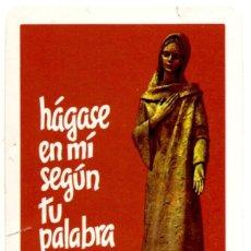 Coleccionismo Calendarios: CALENDARIO FOURNIER 1988 HÁGASE SEGÚN TU PALABRA. Lote 178965108