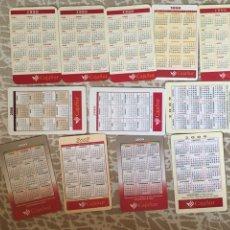 Coleccionismo Calendarios: CALENDARIOS VARIOS AÑOS, DOCE. Lote 179058043
