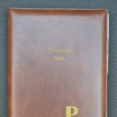 Coleccionismo Calendarios: AGENDA PLANNING 1986 CON LISTÍN TELEFÓNICO. Lote 179061153