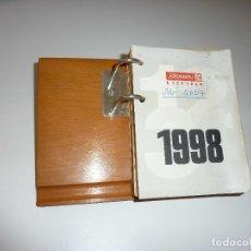 Coleccionismo Calendarios: VINTAGE CALENDARIO DE MESA AÑO 1998. Lote 179083011