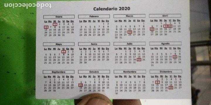 Coleccionismo Calendarios: Calendario bilbo CREACIÓN Bilbao 2020 - Foto 2 - 179528902