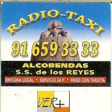 Coleccionismo Calendarios: CALENDARIO DE BOLSILLO - 2008 - RADIO TAXI ALCOBENDAS. Lote 179547422