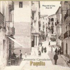 Coleccionismo Calendarios: CALENDARIO DE BOLSILLO - 2008 - CARNISSERIA PAQUITA - BERGA. Lote 179549595