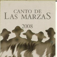 Coleccionismo Calendarios: CALENDARIO DE BOLSILLO - 2008 - GRUPO TRADICIONAL GAVILLA. Lote 179549771