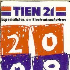 Coleccionismo Calendarios: CALENDARIO DE BOLSILLO - 2008 - TIEN 21 - MÓSTOLES. Lote 179550216