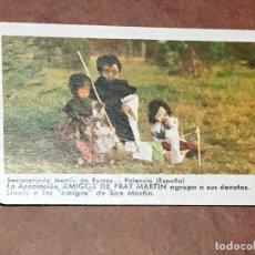 Coleccionismo Calendarios: CALENDARIO FOURNIER. SECRETARIADO MARTIN DE PORRES. PALENCIA. 1977. Lote 179550718