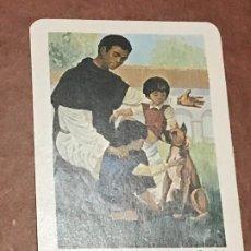 Coleccionismo Calendarios: CALENDARIO FOURNIER. SAN MARTIN DE PORRES. 1972. Lote 179551355