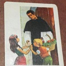 Coleccionismo Calendarios: CALENDARIO BOLSILLO FOURNIER SAN MARTIN DE PORRES AÑO 1971. Lote 179551395