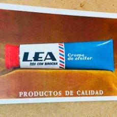 Coleccionismo Calendarios: CALENDARIO LEA 1971. CREMA DE AFEITAR. FOURNIER. Lote 180143246